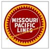 MOPAC Missouri Pacific Railroad Clock - T-shirts - Magnets  - Mugs - Decals - Lighters